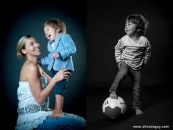 Séance Clélie & Aurèle-studio-Portrait Enfant-Famille
