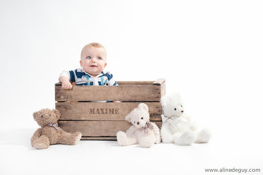 Extrem Séance photo en studio bébé -Maxime 7 mois » Aline Deguy  BL92