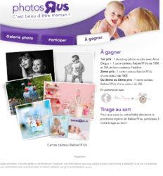 Concours photo en partenariat avec Babies'R'us – 2 shootings photo à gagner – Aline Deguy Photographe