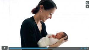 Video Backstage Aline Deguy Photographe nouveau-né, bébé et femme enceinte – Paris