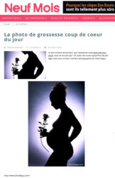 Publication site internet neuf mois magazine – Aline Deguy Photographe