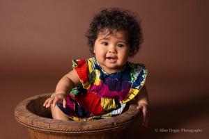 Celeste-Photographe bébé metisse – Studio Paris Aline Deguy