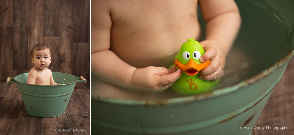 séance photo studio, photographe bébé paris
