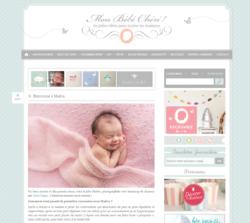 Article Mon bébé chéri blog pour maman – Photographe bébé Paris – Aline Deguy – Maeva