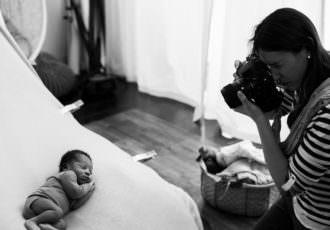backstage workshop, bébé endormi, stage photographe