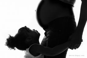 Photographe femme enceinte Paris, Photographe grossesse Paris, Photographe famille studio