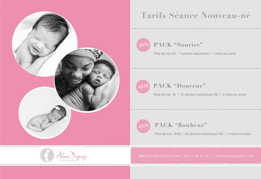 tarifs Aline Deguy, tarifs photographe bébé, photographe bébé paris, photographe nouveau-né paris, studio A3