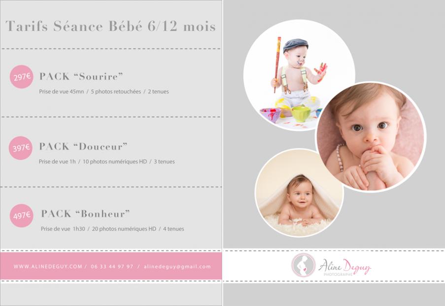 Tarifs photographe bebe, tarifs Aline Deguy, photographe bebe paris, studio photo bébé, casting bébé paris, book bébé paris