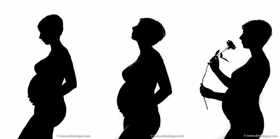 photo future maman, ombre chinoise, blog photographe, photographe 92