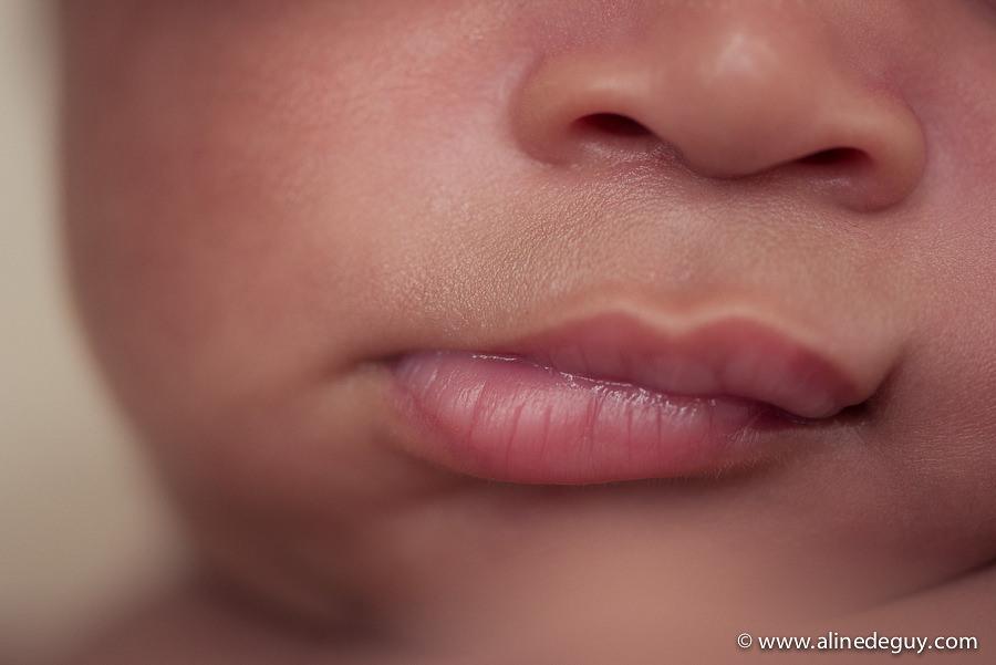 photo bouche bébé