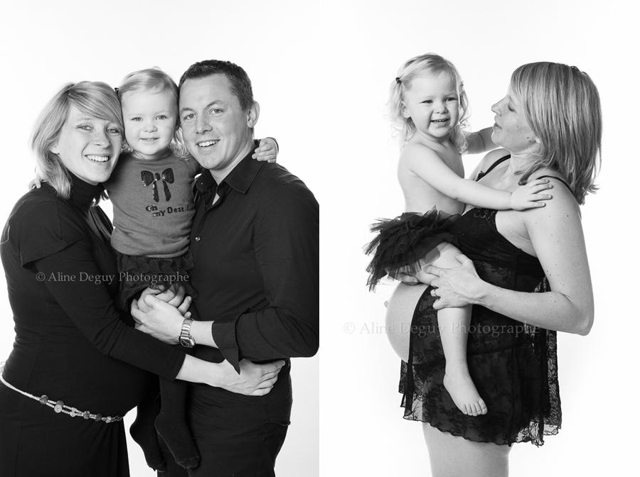 photographe studio, séance photo, famille, grossesse, nanterre