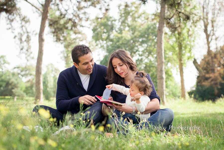 photographe famille, boulogne, lac, bois, catalogue babies'R'us, Aline Deguy