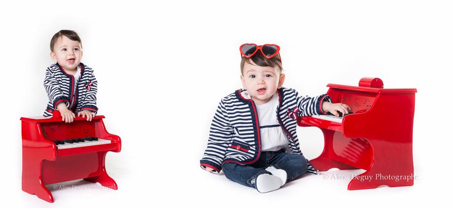 photographe, bebe, enfant, studio