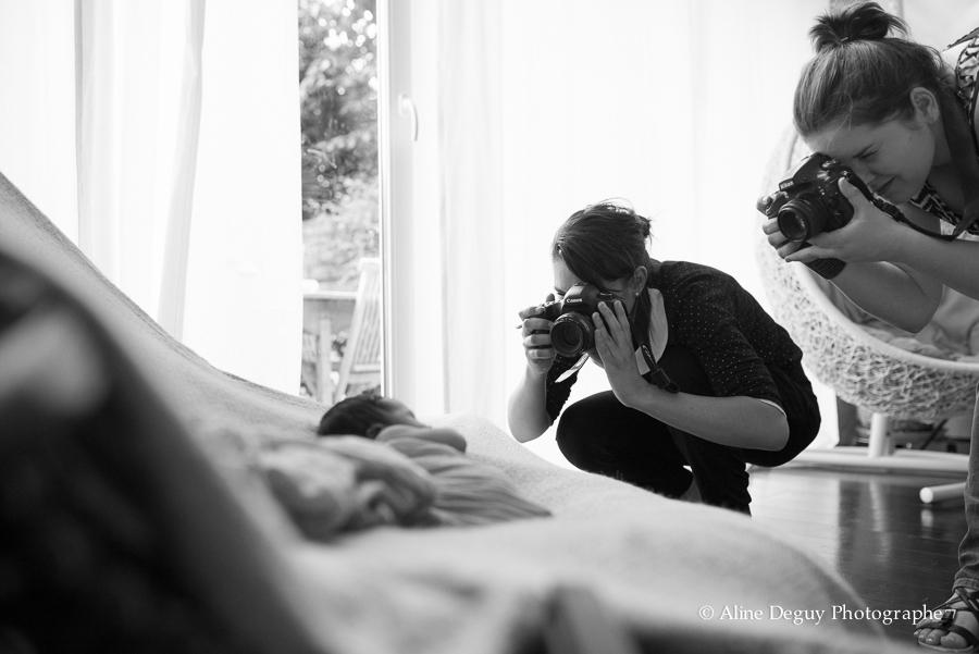 formation, photographe, bébé, studio, lumière naturelle, nouveau-né, newborn posing, France, Aline Deguy, Paris, 92, Hauts de Seine, Région Parisienne, Lyon, Marseille, Bretagne, Belgique, Rennes, Grenoble