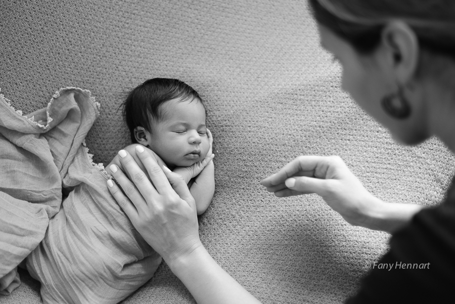 Formation, cours, atelier, photographie, nouveau-né, bébé, studio, Paris, Aline Deguy