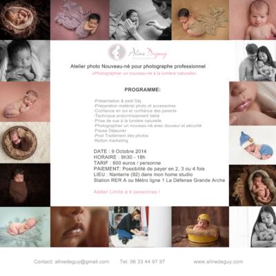 formation, cours, photo, nouveau-né, bébé, Octobre 2014, Aline Deguy, Paris, Lyon, Marseille, Bretagne, Belgique, Tours, Nantes, Nancy, Bordeaux, Photographe