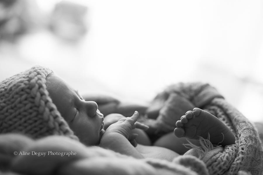 photographe, nouveau-né, bébé endormi, Anne Geddes, Aline Deguy, newborn posing