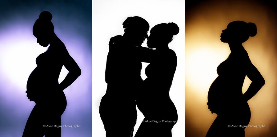 photo, ombre chinoise, grossesse, Aline Deguy, Studio, Paris