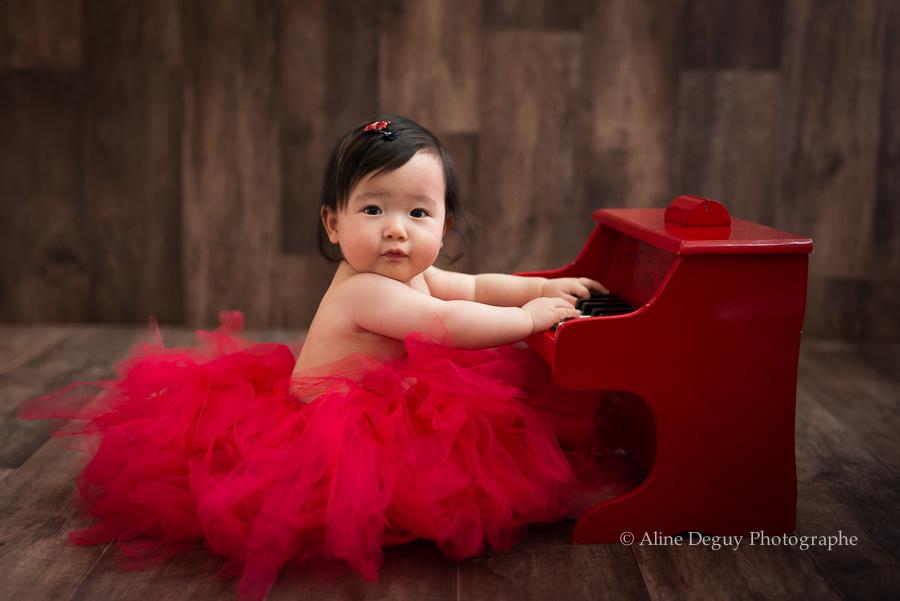 Séance photo, photographe, Aline Deguy, Studio, métisse, asiatique, fille, femme, famille