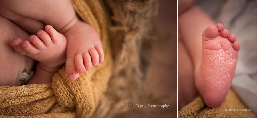 Photographe, bébé, pieds, détails, Aline Deguy