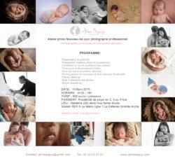 Formation Photographie nouveau-né Juin 2015 – Aline Deguy Photographe