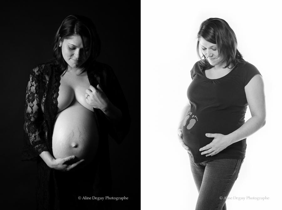 Séance photo, grossesse, femme enceinte, studio, Aline Deguy, Paris, 92