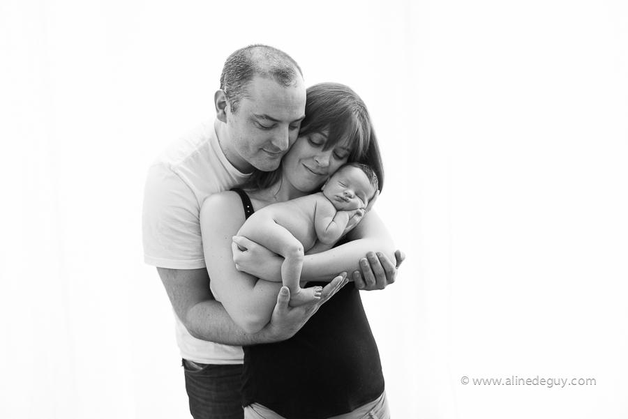 Couple, Famille, photo, studio, Paris