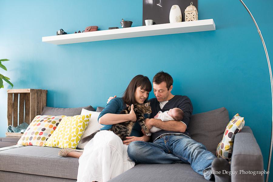 photographe famille, bébé, séance photo à domicile
