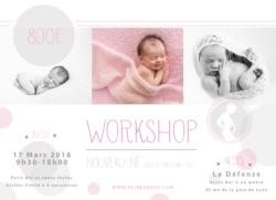 Workshop Newborn Posing – Aline Deguy Photographe – 17 Mars 2016