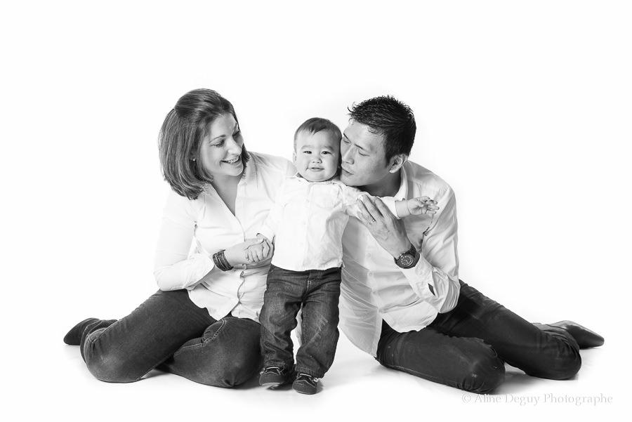 Photographe famille studio