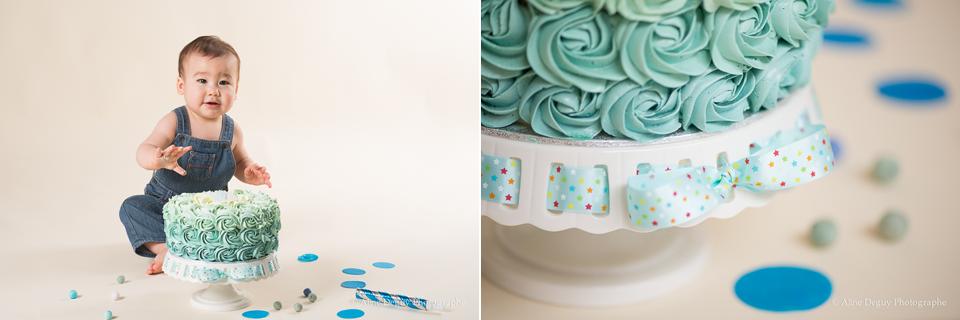 Gâteau d'anniversaire, cake design, gâteau original