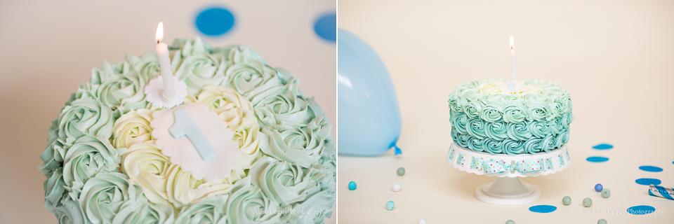 Gâteau d'anniversaire, smash the cake