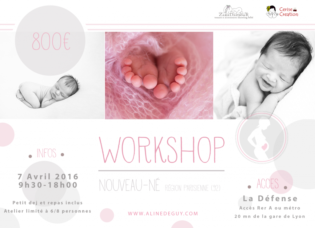 workshop, workshop nouveau-né paris, workshop newborn posing paris, Formation photo nouveau-né
