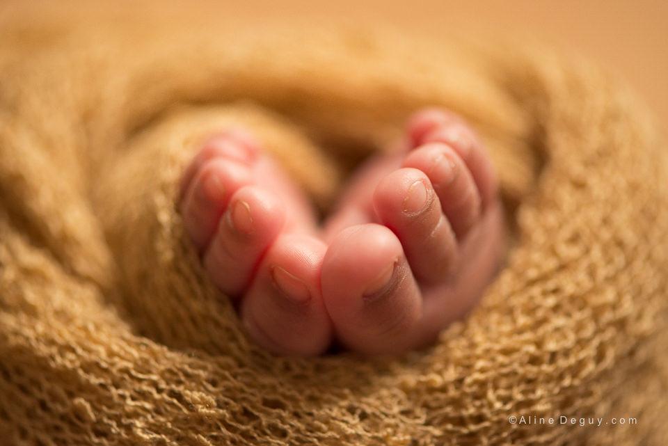 Photo pieds de bébé, Aline Deguy Photographe