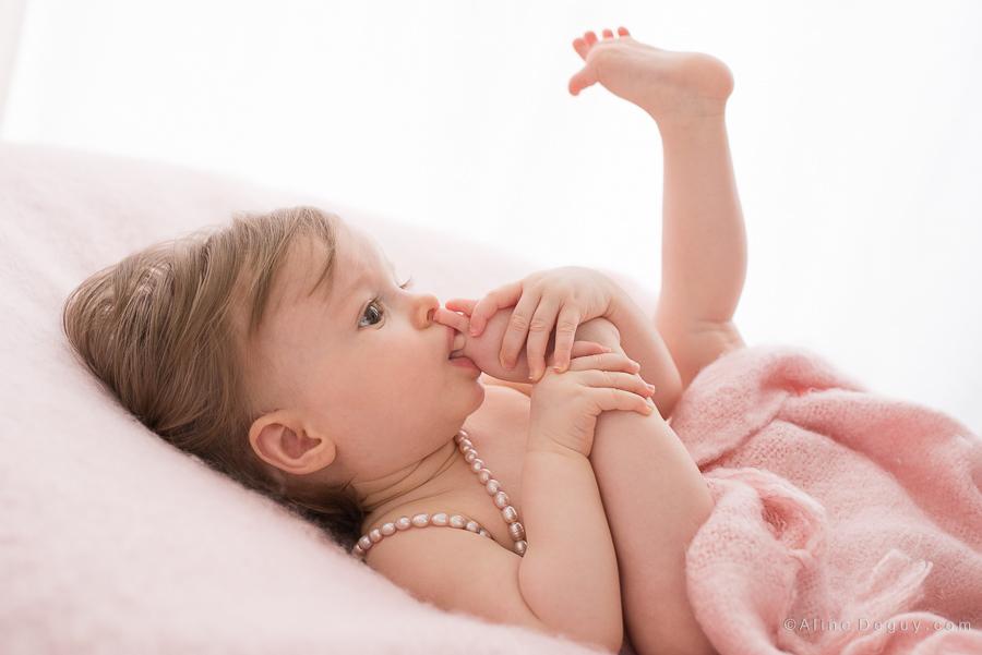 studio photo Garches, Aline Deguy photographe, photographe bébé Paris, photographe bébé région parisienne