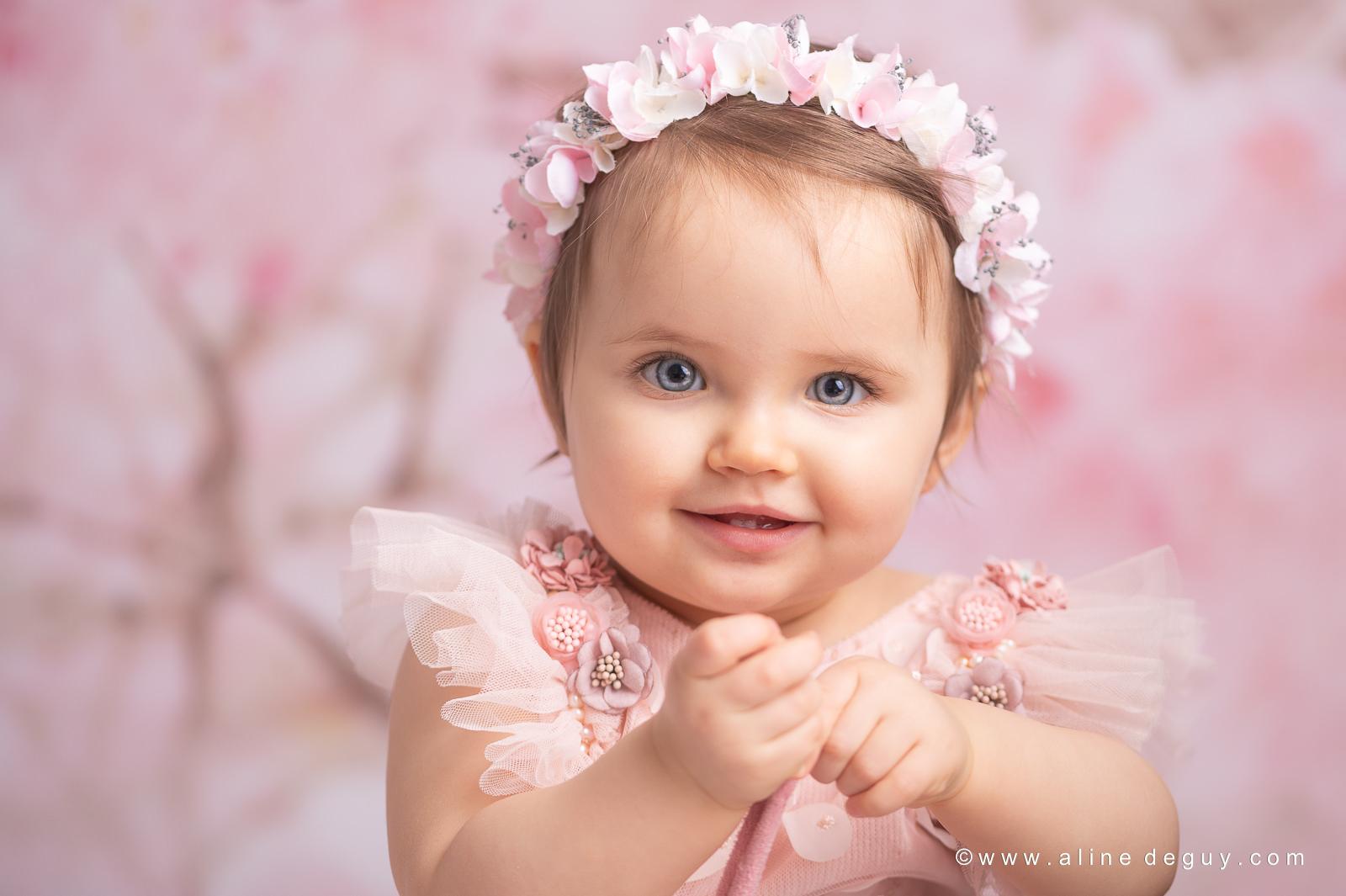 portrait bébé yeux bleus, photographe bébé 92, photographe bébé Rueil